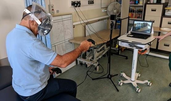 英国切斯特一家医院获45万英镑资助 探索VR治疗中风患者