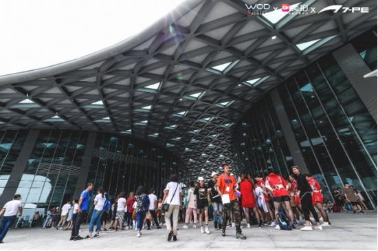 2018WOD世界舞蹈大赛成都站入场