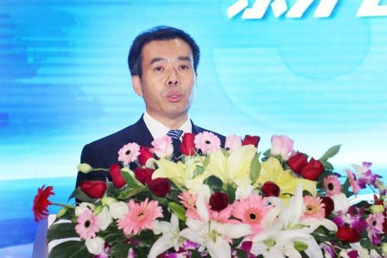 北汽集团总经理、福田汽车董事长张夕勇致辞