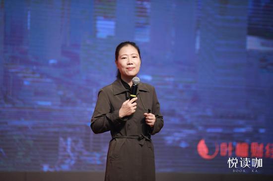 财经女侠叶檀分享财富之道,中国移动咪咕5G+4K超高清直播助力悦读咖