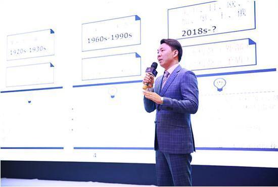 福盈商学院首席经济学家李伟先生发表主题演讲