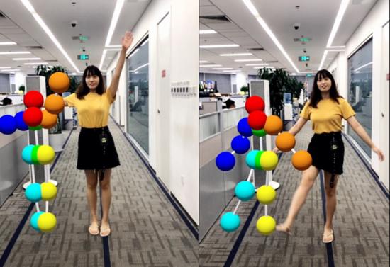 中国3D体感互动技术升级 百度AR突破硬件限制推多平台兼容新算法