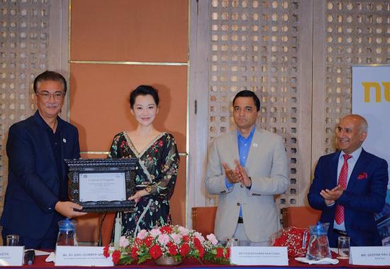 """许晴成为""""2020尼泊尔旅游年""""活动全球友谊大使"""