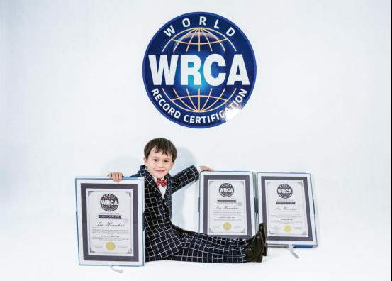 五岁少年成脑力竞技领域三冠王,11周拿下三项WRCA世界纪录