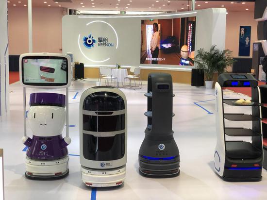 擎朗智能三度亮相世界机器人大会 提供室内无人配送解决方案