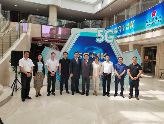 """强强联合,打造""""5G+4K智慧酒店"""""""