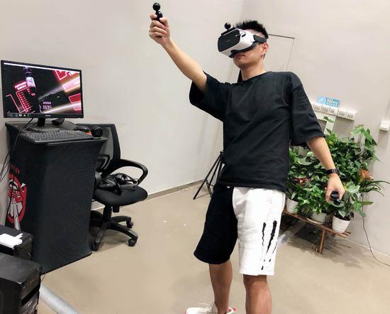 大朋全景声3D巨幕影院云VR游戏体验