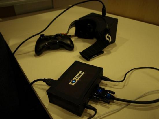 Oculus'Pre-DK1 原型,CES 2013