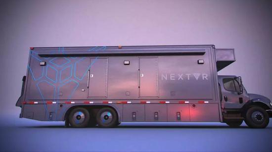 在拍摄工具方面,能否为我们介绍一下NextVR的直播系统和那辆用来转播的大卡车?