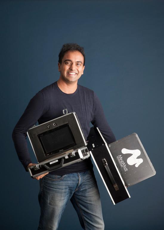 MindMaze创始人兼CEO Tej Tadi