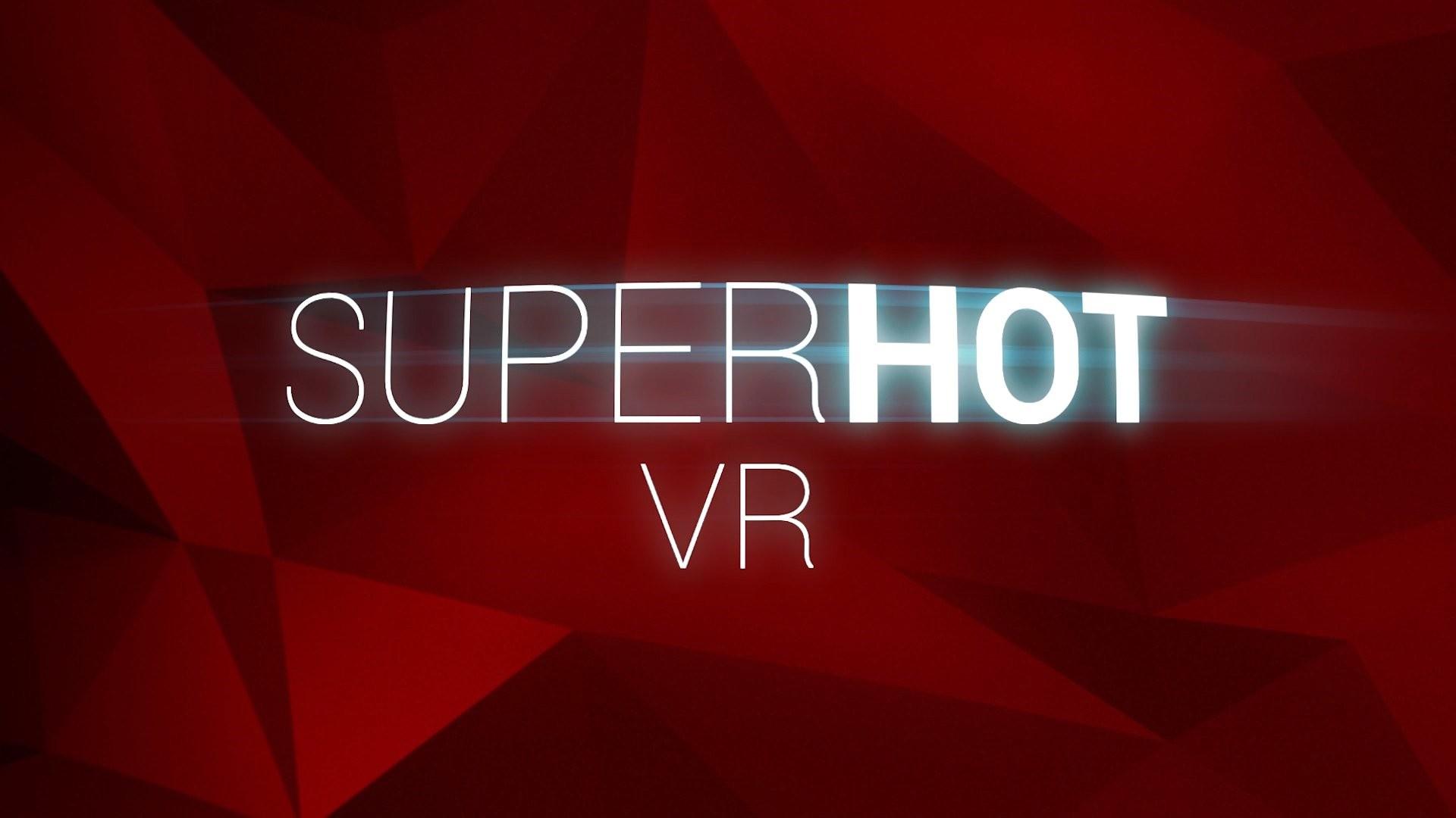 射击游戏《SUPERHOT VR》将于今夏登陆PSVR