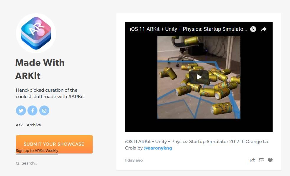 <b>ARKit到底多有意思:全球开发者的Demo展示</b>