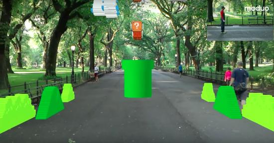 AR版《超级马里奥》来了,用HoloLens玩超带感!