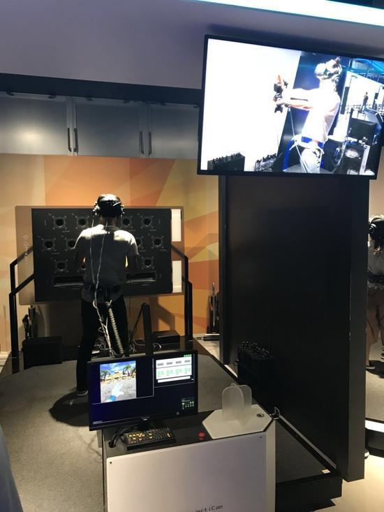 VRZONE二层,《七龙珠VR》