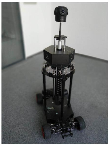 观界科技全景摄像机+平衡车方案
