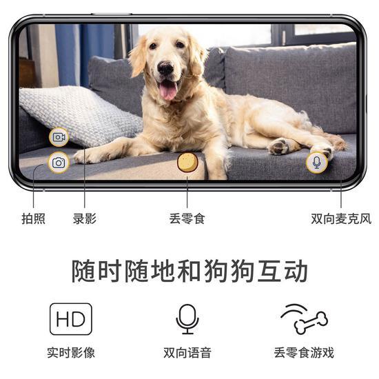 """""""有大脑、会学习""""的智能狗狗摄像机"""