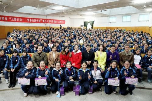 21个地级市、100多场次、近35000名青少女,卫蕾行动为守护祖国的花蕾