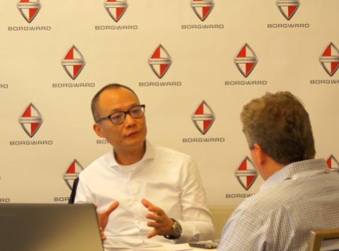 宝沃汽车集团总裁杨嵩先生接受外媒采访