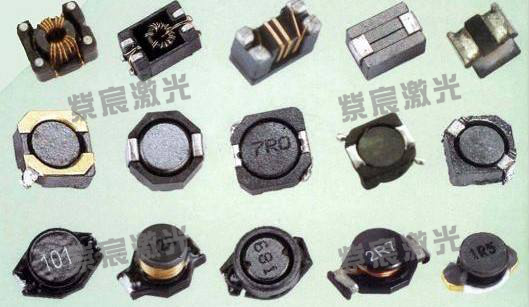 一体成型电感激光焊锡作业过程