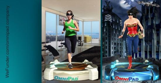 OmniPad循环跑步机发起众筹股权活动