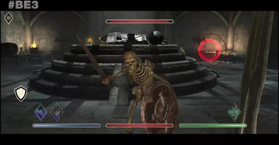 在演示视频的最后,Bethesda宣布本作将支持VR操作。