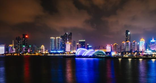 青岛上合峰会:魅力城市换新衣 锐捷4g路由点亮炫丽夜景