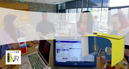 VR正在为未来的学生提供大学生活的体验