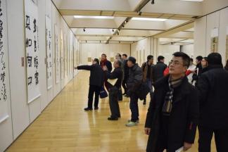 """""""正山堂杯""""全国十大青年书法家提名展于杭州举行"""