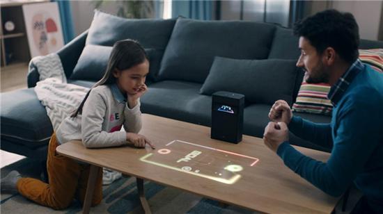 Hachi 哈奇光屏M1触控投影,实力、创意二合一重新定义投影设备