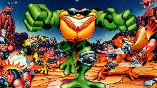 《忍者蛙》