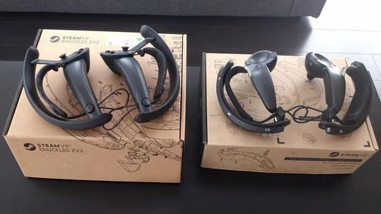 SteamVR Knuckles EV2控制器:新一代的VR交互设备