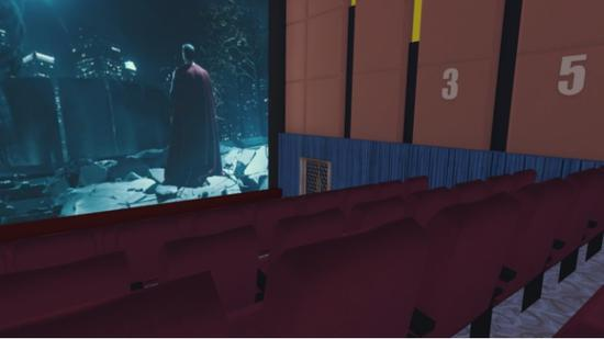 (玩家可以选择3、5、7排进行观影)