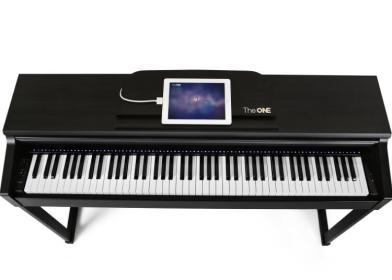 The ONE智能钢琴-艺术居然也玩智能 这几款稀罕物你得好好瞧瞧