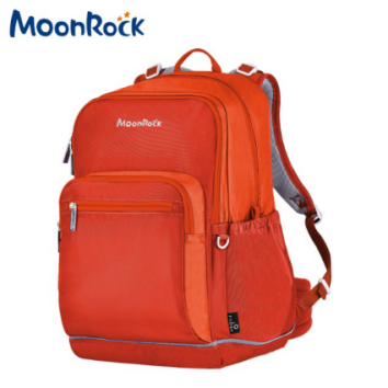 (MoonRock梦乐护脊书包-MR5正反面)