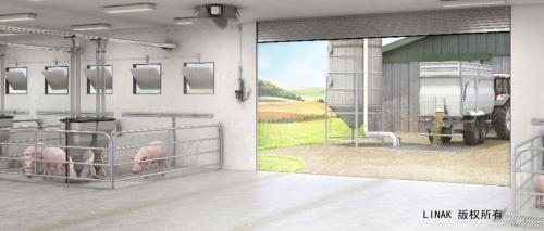力纳克电动推杆技术,推动智能高效养殖生猪大趋势