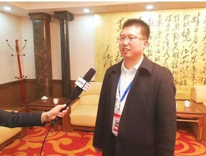 总经理常志贤接受中央电视台现场采访