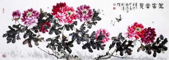 """点墨作春风,遍是生花笔——""""画中诗家""""张锡龙"""