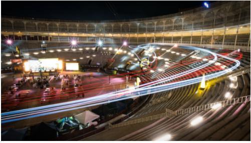 7月初,DCL在西班牙马德里拉斯班塔斯斗牛场举办了赛事
