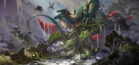 中国神话世界-花果山