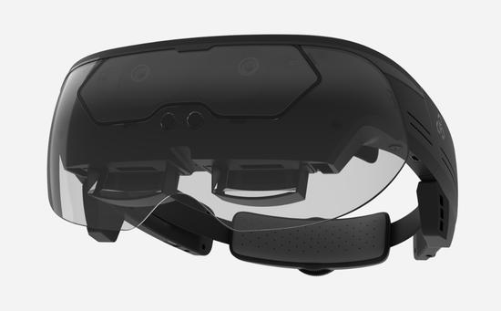 Leapsy自主研发的热成像AR头显 MR 360