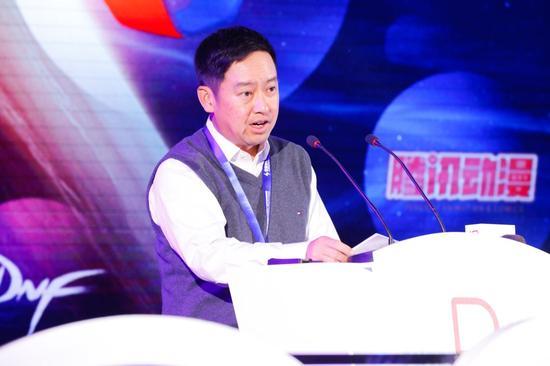 腾讯游戏副总裁蔡欣先生