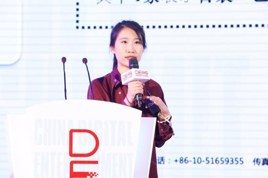 上海童石网络科技股份有限公司互娱总裁弓晨女士