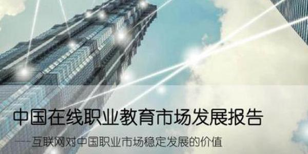 2019中国在线职业教育市场发展报告(可下载)