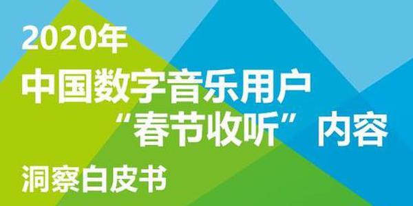 中国数字音乐用户春节收洞察白皮书:85%用户计划与亲友共度春节(可下载)