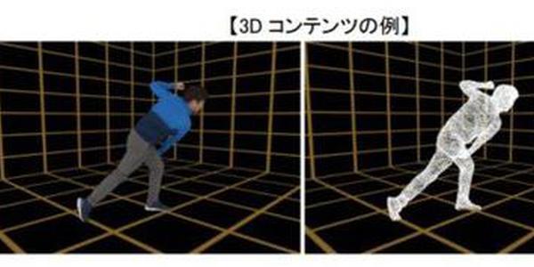 "NTT开设可进行3d拍摄的""docomo XR Studio""工作室"