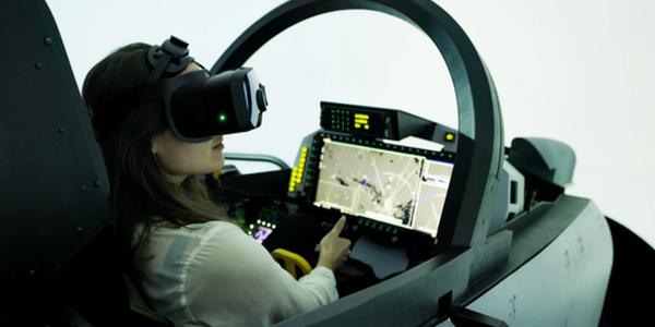 Saab与Varjo联手为飞行模拟器开发全新XR显示技术