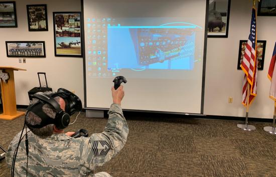 VR初创公司VINCI获百万美元合同 为美空军提供飞机维修和保养培训