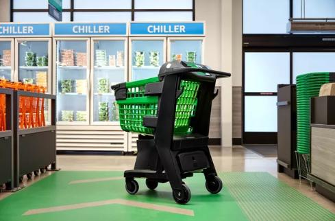 亚马逊新推出智能购物车 不用收银员即可结账