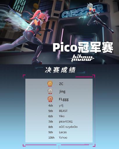 Pico《Hibow》挑战赛圆满落幕,VR在线竞技前途光明