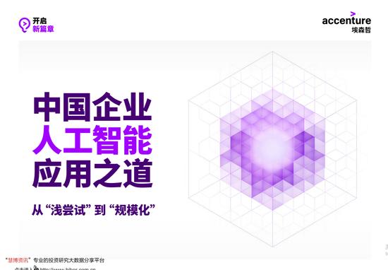 中国企业人工智能应用之道:2023年中国人工智能市场规模将达到979亿美元